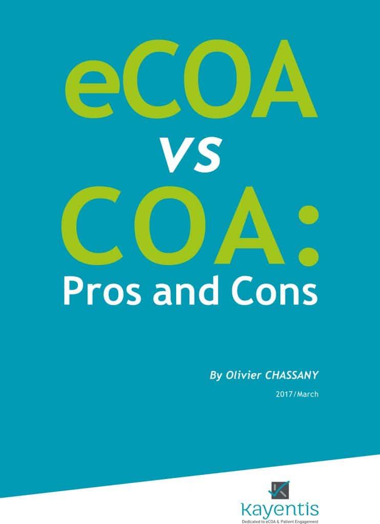 Kayentis_White_Paper eCOA vs COA page1