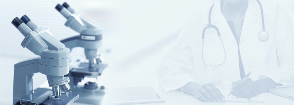 doctor microscope study