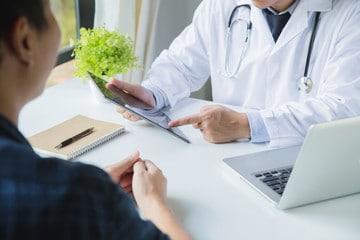 doctor, tablet
