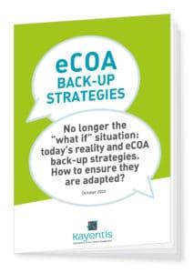 Kayentis - eCOA back-up strategy